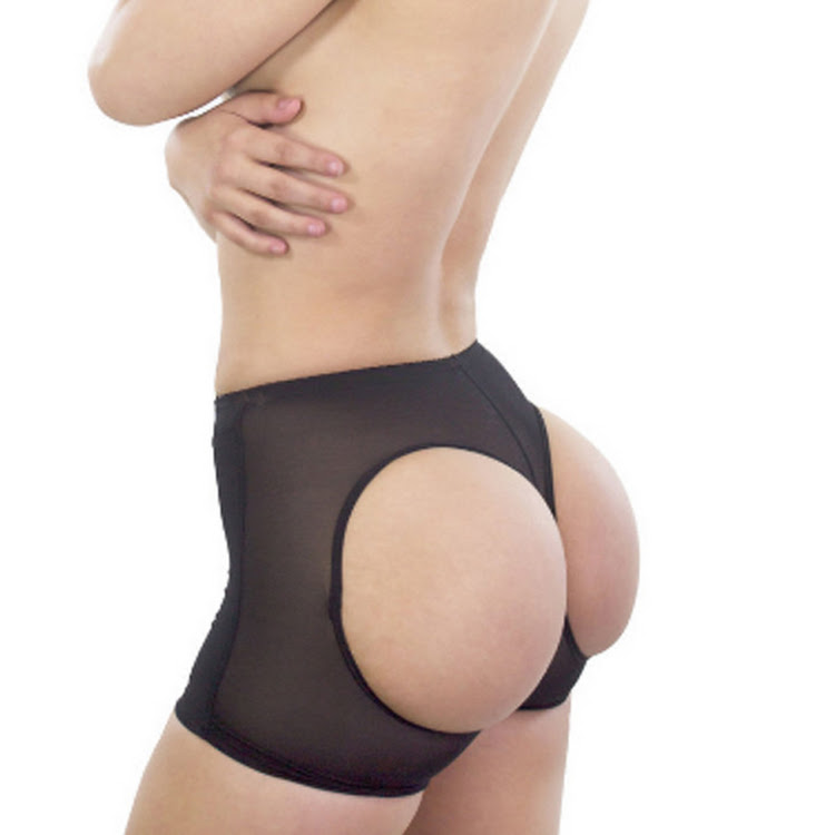 Butt Lifter boyshort enhancer shaper panties with holes
