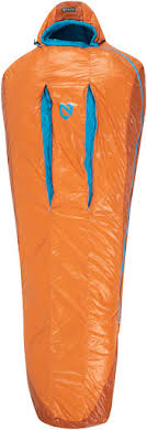 NEMO Kyan 35 Sleeping Bag, Primaloft Silver Synthetic Insulation: Regular, Amber/Alpine alternate image 4