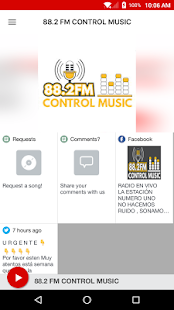 88.2 FM CONTROL MUSIC- screenshot thumbnail