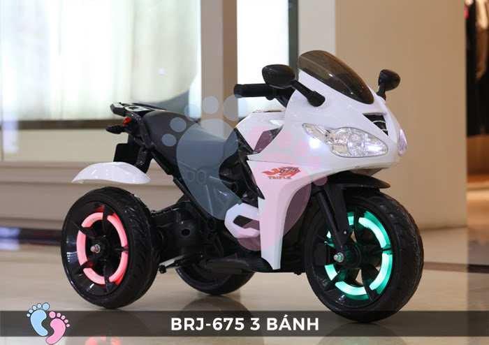 Xe moto điện trẻ em BRJ-675 3 bánh 7