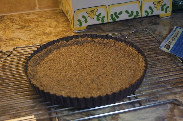 Remove from oven and allow the crust to cool.