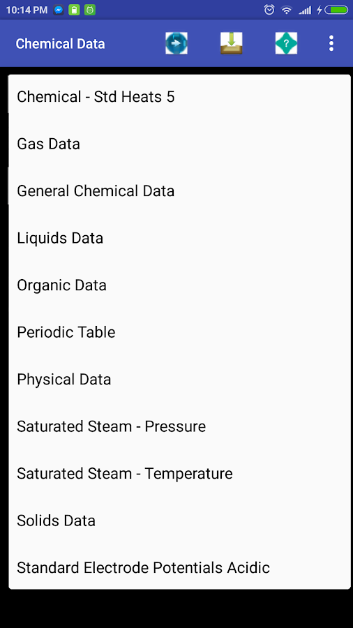 Chemical Engineer/General Data- screenshot