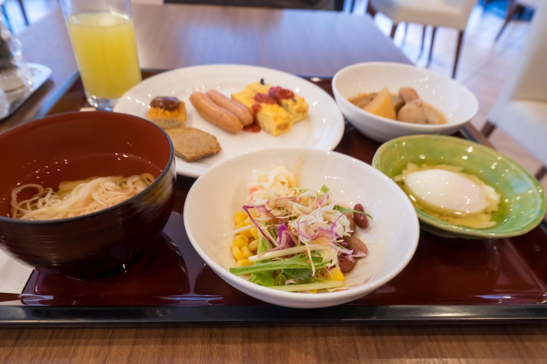 ホテルJALシティ松山 朝食2