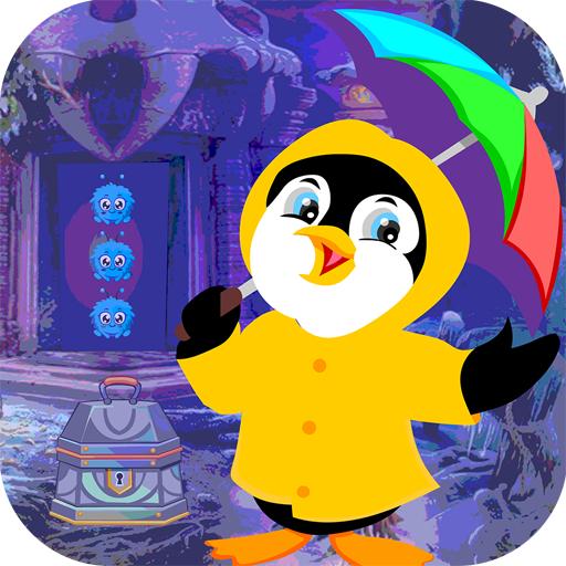 Best Escape Games 152 Dwarf Penguin Rescue Game