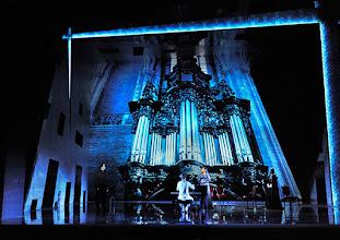 Photo: Wien/ Raimundtheater: MOZART - das Musical. Premiere 13.9.2015. Thomas Borchert, Oedo Kuipers, Ana Milva Gomes, Barbara Obermeier.  Copyright: Barbara Zeininger