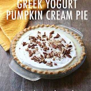 Greek Gods Pumpkin Cream Pie