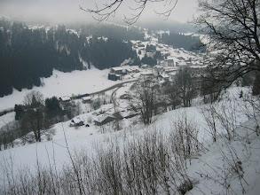 Photo: pris de plus haut sur la route du mont Chéry