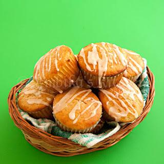 Lime Yogurt Muffins with Lime Glaze