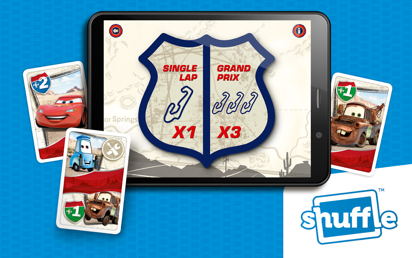 Cars by ShuffleCards- screenshot