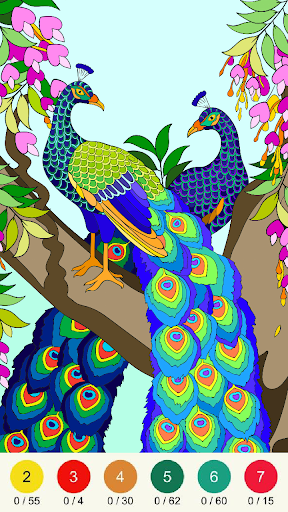 Wonder Color - Color by Number Free Coloring Book screenshots 21