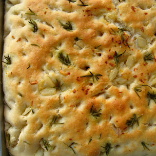 Rosemary and Garlic Oil Focaccia