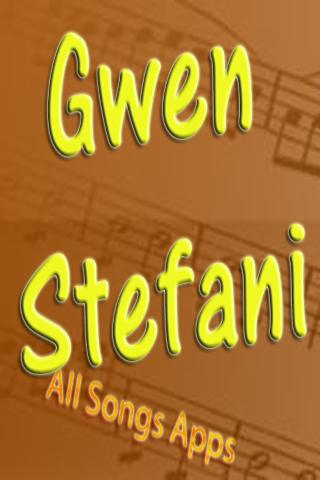 All Songs of Gwen Stefani