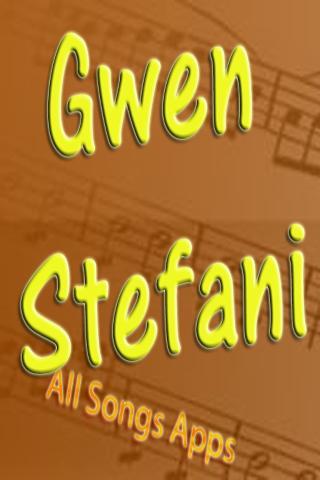All Songs of Gwen Stefani