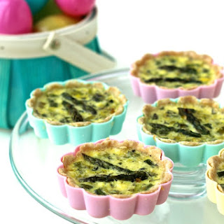 Mini Spring Vegetable Quiches