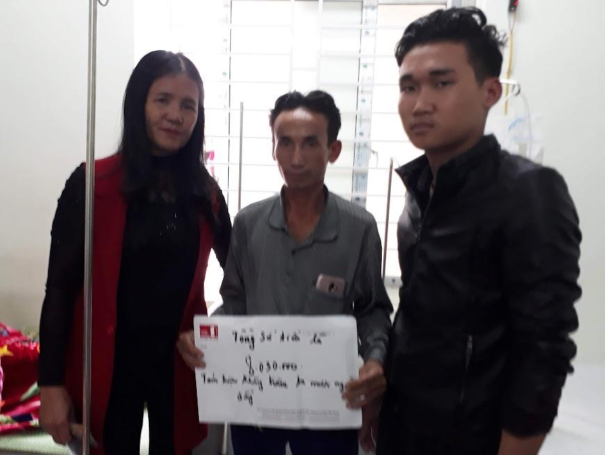 Những hoàn cảnh khó khăn được chị Thái Thị Khanh tìm hiểu, kêu gọi giúp đỡ