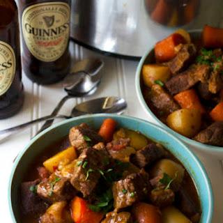 Slow Cooker Guinness Irish Stew.