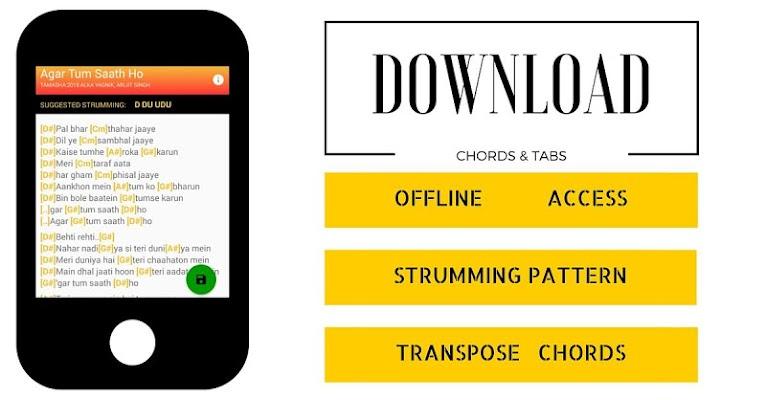 DesiString-Hindi Chords & Tabs - screenshot
