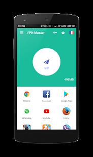 VPN MASTER - unblock site - náhled