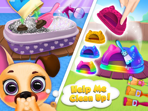 Kiki & Fifi Pet Friends - Furry Kitty & Puppy Care 2.0.98 screenshots 10