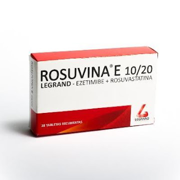 ROSUVINA E 10/20MG   TABLETA CAJX28TAB LEGRAND EZETIMIBE ROSUVASTATINA