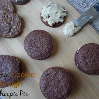 Brownie Cookie Dough Whoopie Pie