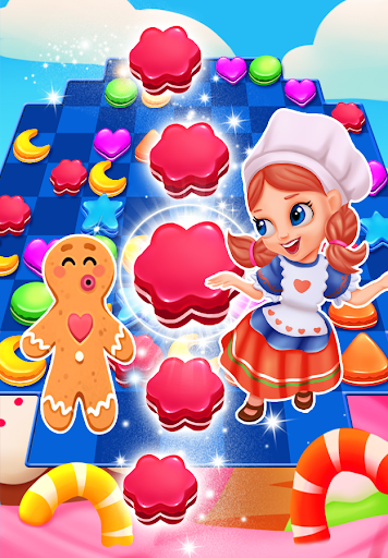 gingerbread cookie crush 1.8 screenshots 6