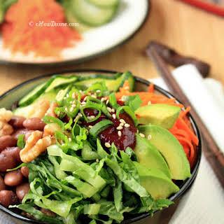 Easy Vegetable Bibimbap.