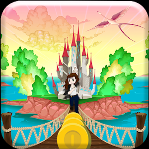 Princess Magic Run Castle Worl screenshot 1