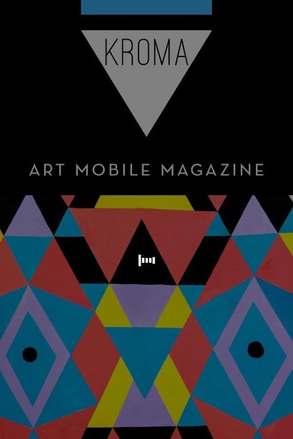 Περιοδικό Τέχνης KROMA - στιγμιότυπο οθόνης
