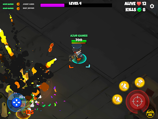 Warriors.io - Battle Royale Action android2mod screenshots 13