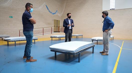 Comienzan los test masivos en El Ejido, que ha habilitado 30 camas para enfermos