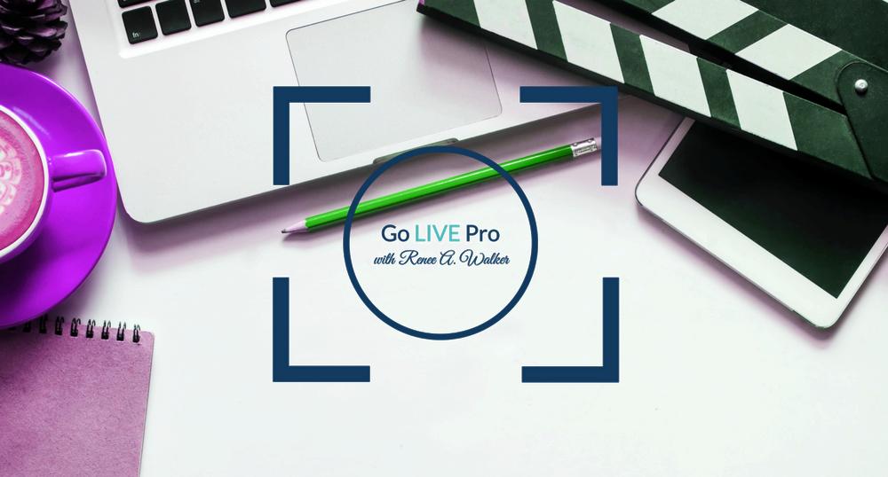 Go LIVE Pro Header