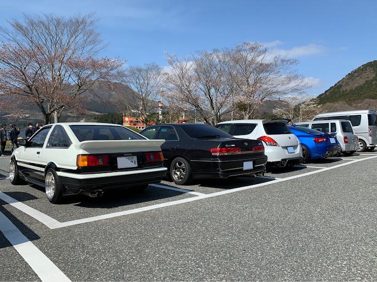 マークII JZX100のSSS(saitama street stage),箱根ターンパイク,大涌谷,芦ノ湖,富士山に関するカスタム&メンテナンスの投稿画像3枚目