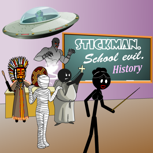 Stickman. School evil - history