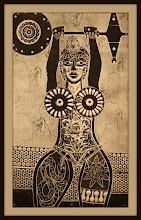 Photo: Antonio Berni Sin título (Ramona levantando pesas) 1963. Xilocollage. Matriz xilográfica: 63,8 x 38,4 cm. Estampa: 50,8 x 49,8 cm. The Museum of Fine Arts, Houston, EE.UU. Expo: Antonio Berni. Juanito y Ramona (MALBA 2014-2015)