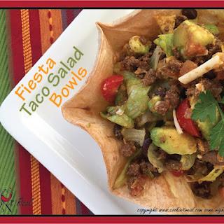 Fiesta Taco Salad Bowls.