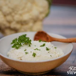 Healthy Creamed Cauliflower