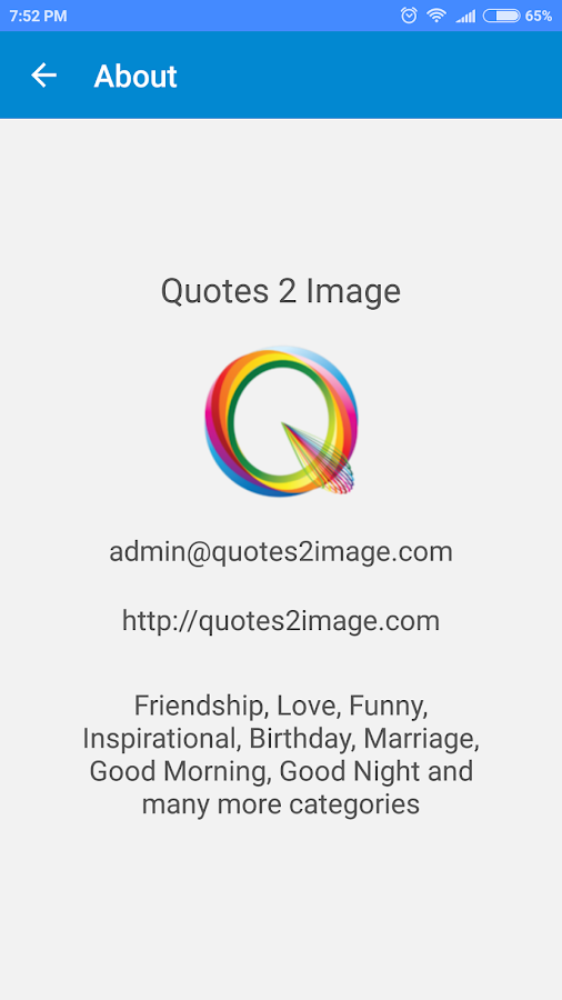 Quotes 2 Image- screenshot