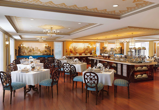 Ganges-Voyager-II-eastindia-dining-room.jpg - The East India Dining Room aboard Uniworld's Ganges Voyager II