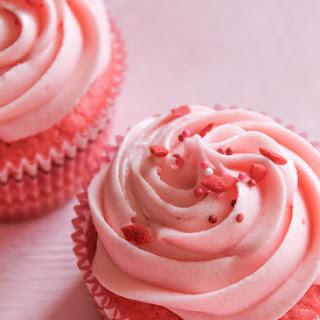 Cherry Kool-Aid Cupcakes