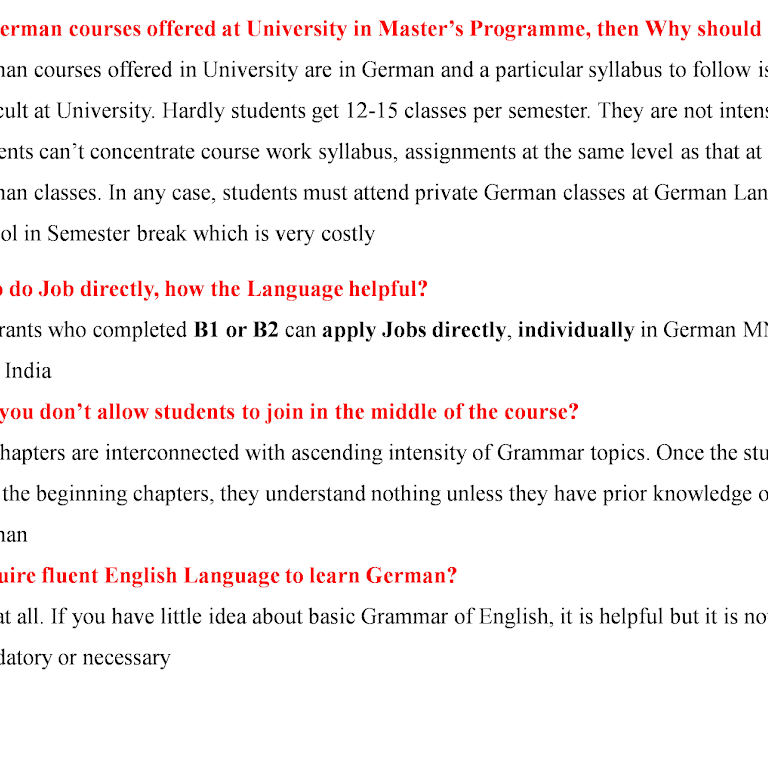 Center for German Language - German Language School in