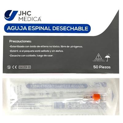 aguja raquidea espinal jhc n25