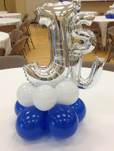 Photo: balloon letters can be used for your special event