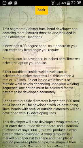 Segmental Bend Developer