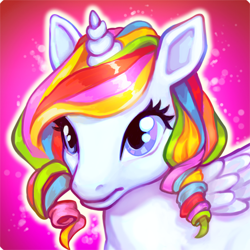Run cute little pony race game (game)