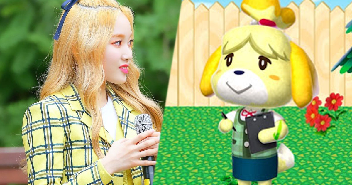 """LOONA's Gowon Is Totally Isabella From """"Animal Crossing"""" And Fans Have All The Receipts To Prove It"""