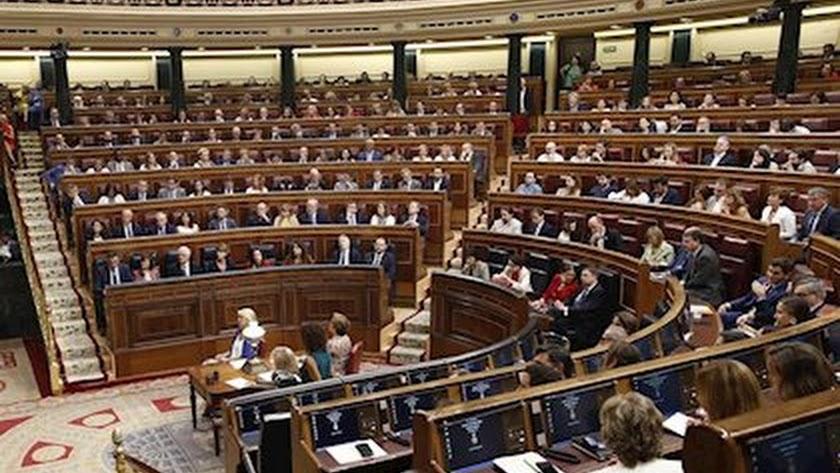 Los diputados en el Congreso ascienden a 350.