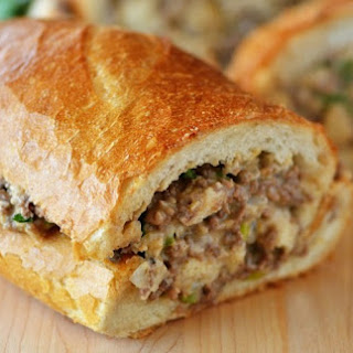 Ground Beef Stuffed French Bread Recipes.
