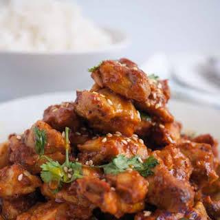 Indian Chicken Tikka Masala .