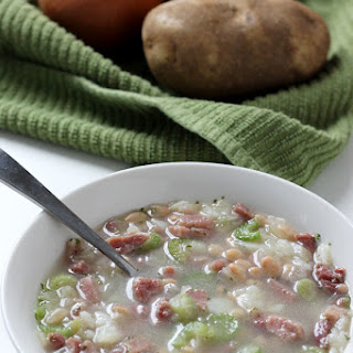 Easy to Make Irish Potato Bean Soup